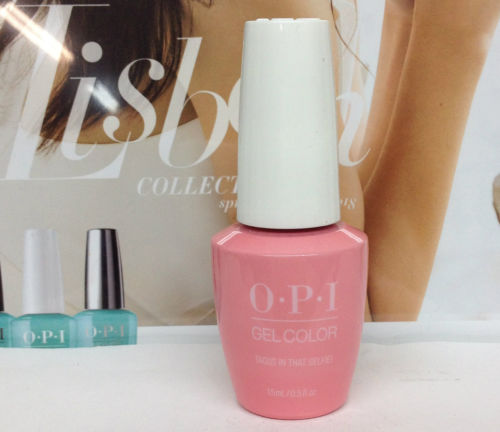 OPI GELCOLOR LISBON COLLECTION SPRING 2018 Tagus In That Selfie! GCL18