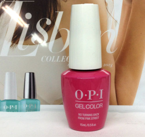 OPI GELCOLOR LISBON COLLECTION SPRING 2018 No Turning Back From Pink Street GCL19