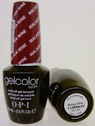 OPI Gel Color GC L87 Malaga Wine