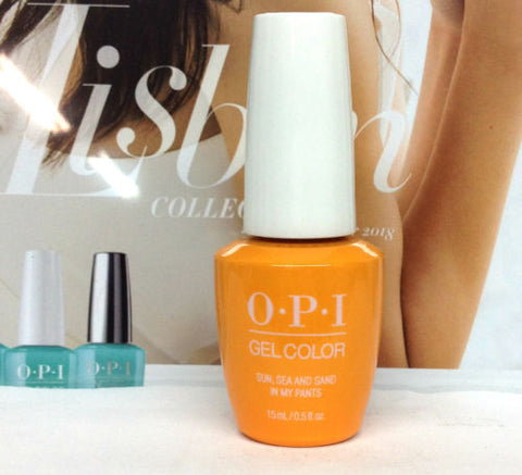 OPI GELCOLOR LISBON COLLECTION SPRING 2018 Sun, Sea And Sand In My Pants GCL23