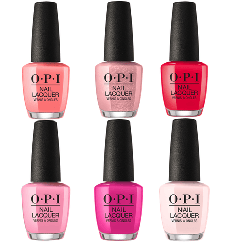 OPI LACQUER LISBON #1 COLLECTION SET OF 6