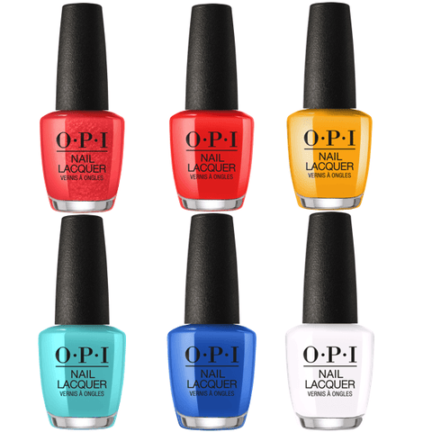OPI LACQUER LISBON #2 COLLECTION SET OF 6