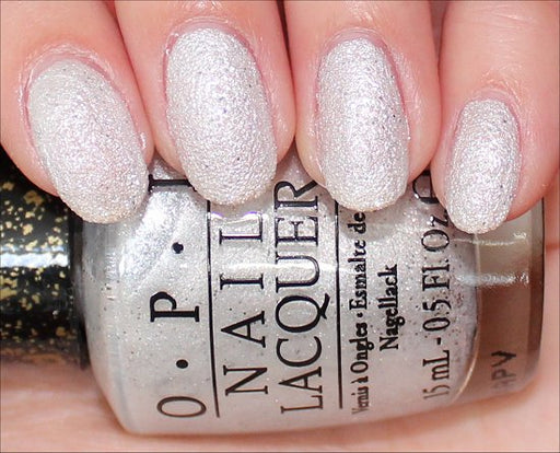 OPI  Discontinue Color Nail Polish Solitaire NL M49 Liquid Sand