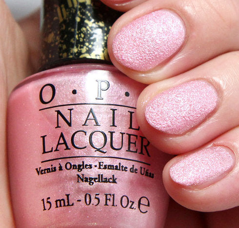 OPI  Discontinue Color Nail Polish Pussy Galore NL M50 Liquid Sand