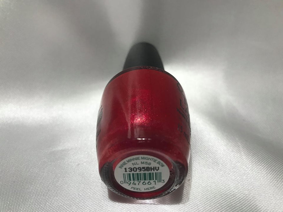 OPI  Discontinue Color Nail Polish Innie Minnie Mighty Bow NL M58