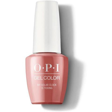 Opi gelcolor soak off gel polish My Solar Clock Is Ticking P38 0.5 oz 15 ml np5