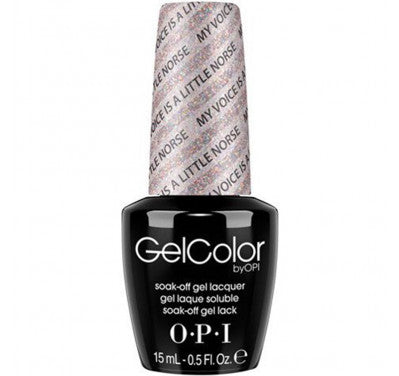 Opi gelcolor soak off gel polish My Voice Is A Little Norse N42 0.5 oz 15 ml np5