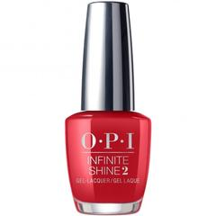 OPI Infinite Shine Apple Red ISL N25