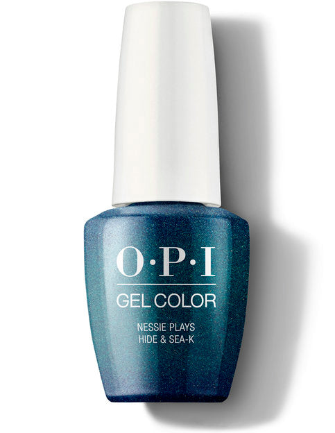 Opi gel color gel polish Scotland colletion Nessie Plays Hide & Sea-k GCU19