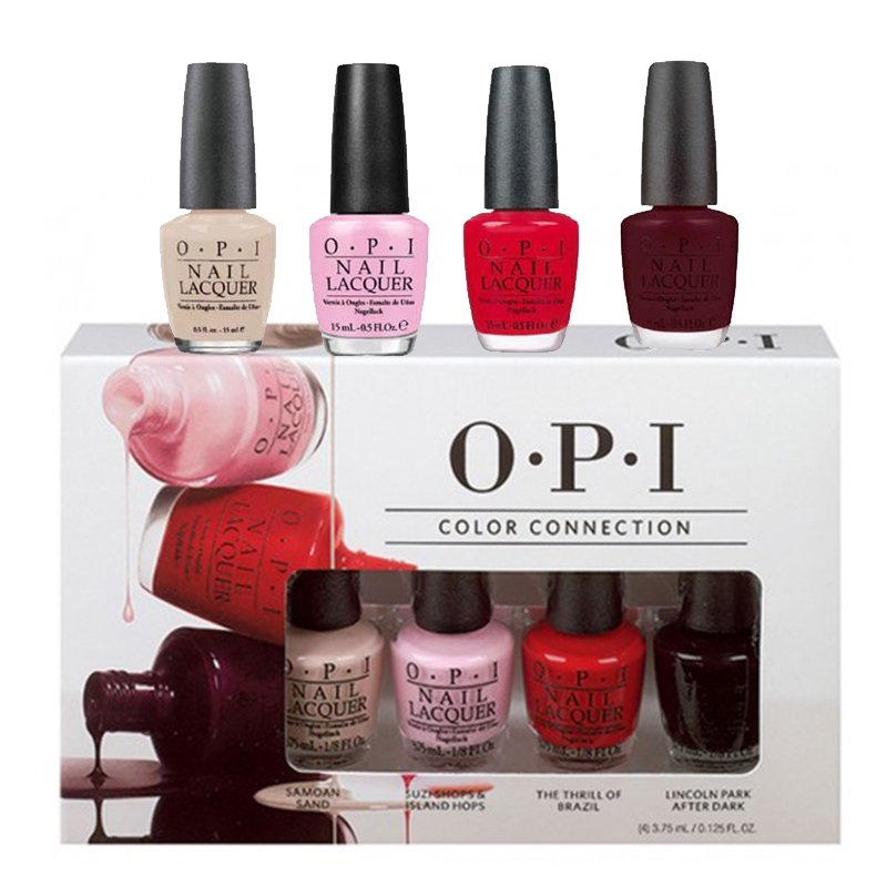 OPI Color Connection Mini set 4