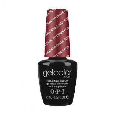 OPI Gel Polish GC T25 Color to Diner For