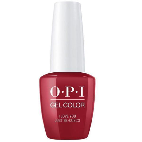 Opi gelcolor soak off gel polish I Love You Just Be-Cusco P39 0.5 oz 15 ml np5