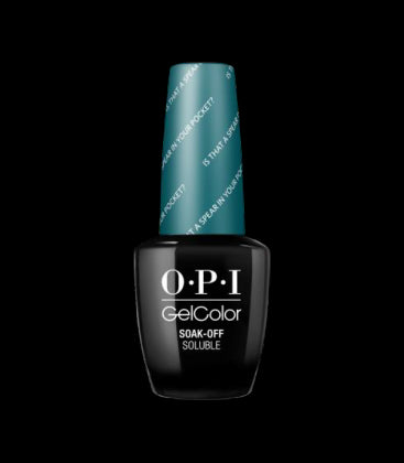OPI Gel Polish GCF85 Is That A Spear In Your Pocket?