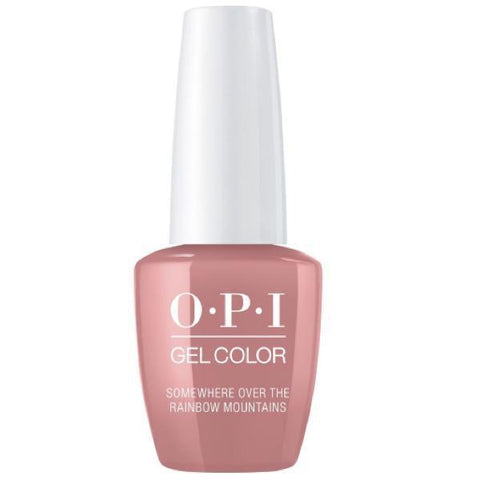 Opi gelcolor soak off gel polish Somewhere Over The Rainbow Mountains P37 0.5 oz 15 ml np5
