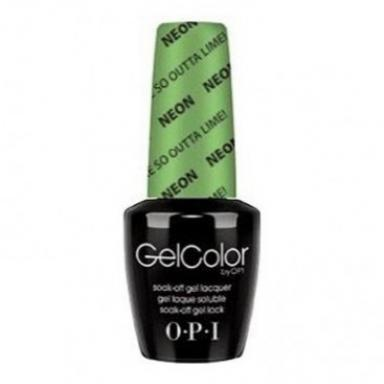 OPI Gel Polish GCN34 You are So Outta Lime!