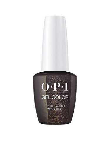 Opi gelcolor soak off gel polish TOP THE PACKAGE WITH A BEAU J11 0.5 oz 15 ml np5