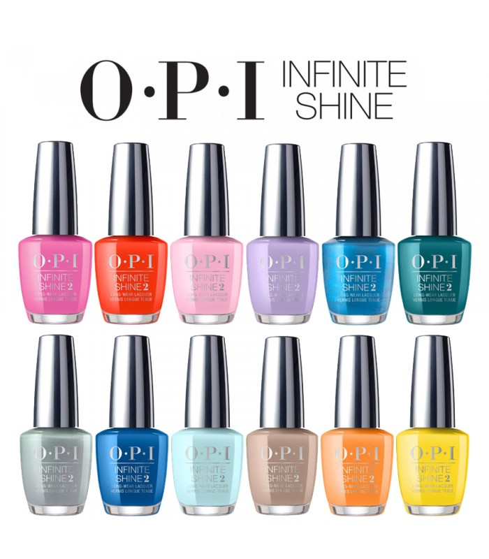 OPI Infinite Shine Nail Polish FIJI Collection 12 Colors – Hebiss