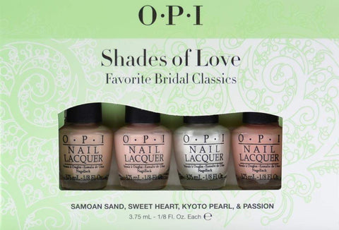 OPI mini set Shades of Love