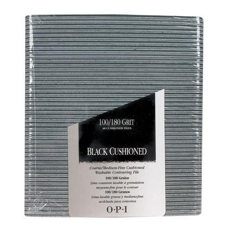 Opi files black cushioned package of 48 FI 261 np2