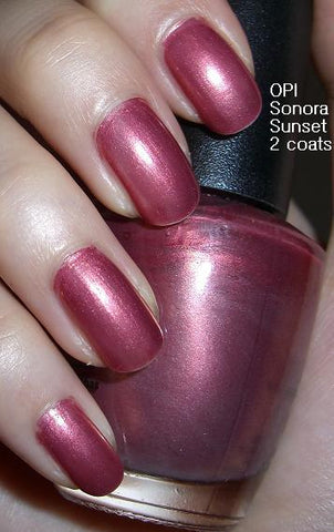 OPI  Discontinue Color Nail Polish Sonora Sunset NL P05