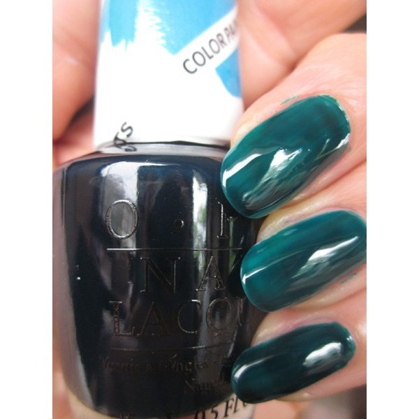 OPI Discontinue Color Nail Polish Turquoise Aesthetic NL P26 nl1