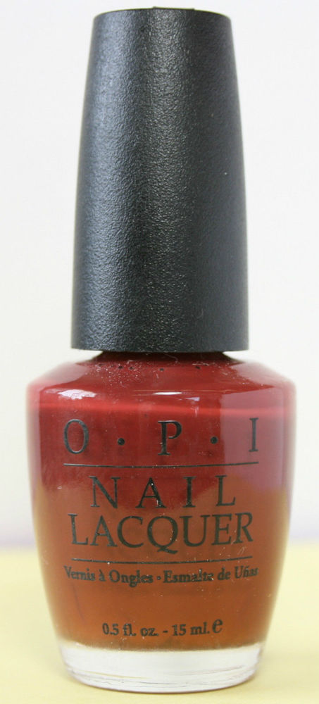 OPI  Discontinue Color Nail Polish  BURNT SUGARLOAF NL R06