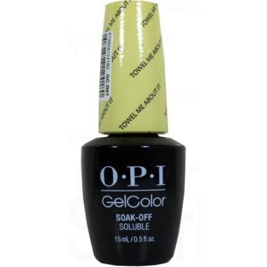 OPI Gel Polish GCR67 Towel Me About It