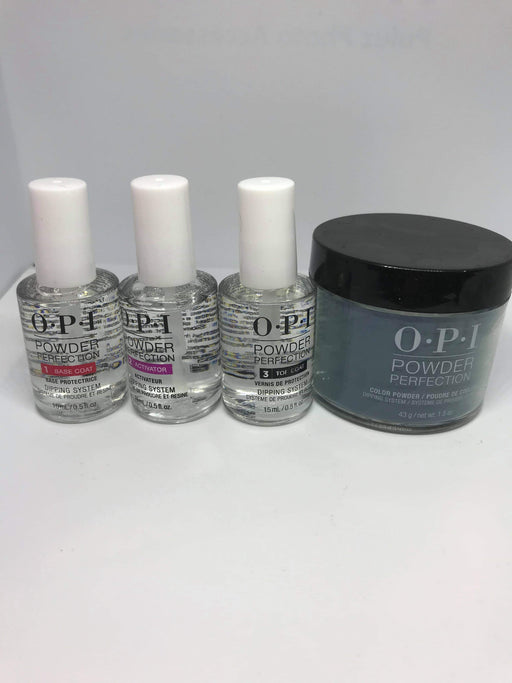 OPI Powder Perfection liquid 3 step + DPW53 CIA = Color is awesome