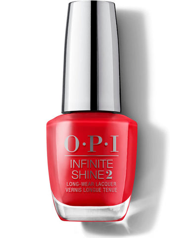 Opi infinite Shine Scotland collection Red Heads Ahead ISLU13