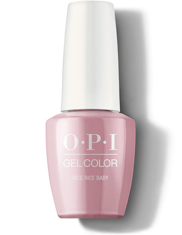 OPI gelcolor gel polish RICE RICE BABY