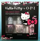 OPI HELLO KITTY 2pc Nail Polish Set Toe Separators - DDH06 H81 H82 Ltd Ed PP5