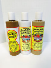 MAUI BABE BROWNING LOTION, SALON FORMULA LOTION, AFTER BROWNING SUN CARE PACK