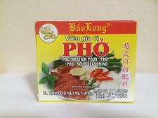 2.64oz Bao Long Pho Bo Chicken Soup Seasoning Cubes pack of 5 pp5