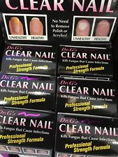 6 bottes Dr G's Clear Nail Treatment for Nail Fungus Kill fungus 0.6fl 18ml pp5