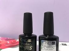 CND Shellac Gel Polish Set of Large Base 12.5ml/0.42oz & Top Coat 15ml/0.5floz pp5
