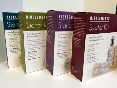 BIOELEMENTS STARTER KIT - COMBINATION, SENSITIVE, DRY, OR OILY