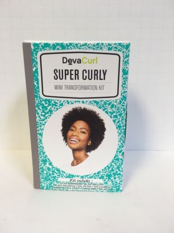 DEVACURL DEVA CURL MINI TRANSFORMATION TRAVEL KIT - WAVY, CURLY, SUPER CURLY