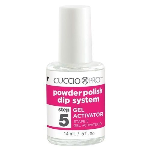 CUCCIO Pro Powder Polish Dip Nail Gels .5 oz Gel Activator Step 5