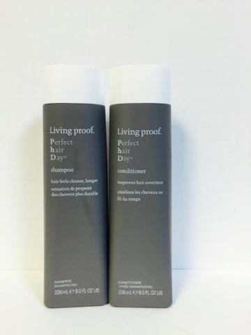 Living Proof PhD Perfect Hair Day Shampoo & Conditioner Set - 8oz