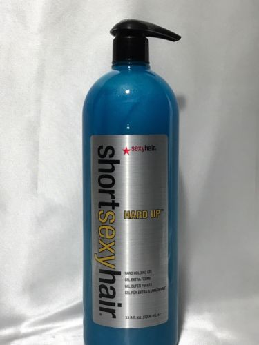 SHORT SEXY HAIR HARD UP GEL 33.8 OZ 1000ml