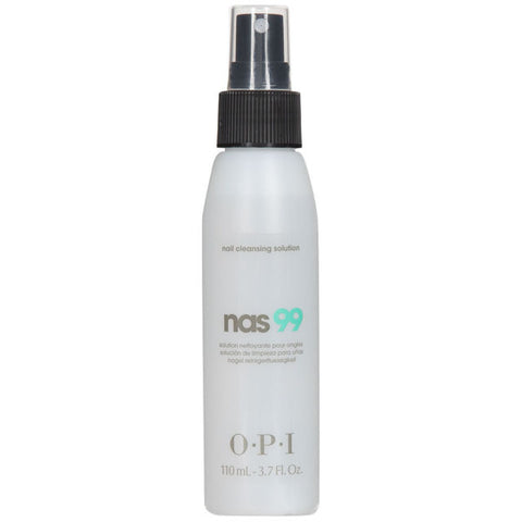 2 Pack OPI NAS 99 120 mL/4 oz Nail Cleanser NAS 99 Cleansing Solution Alcohol