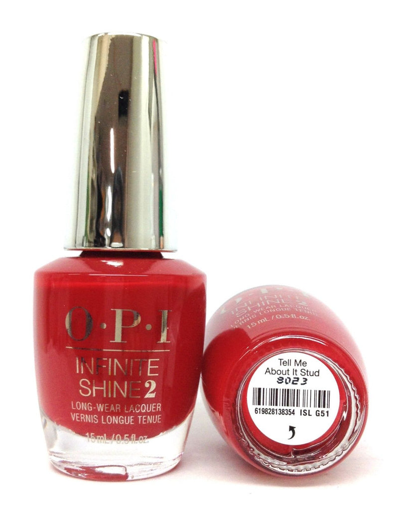 OPI Infinite Shine GREASE Collection 2018  Tell Me About It Stud LG51
