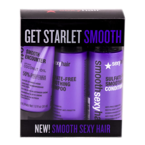 SEXY HAIR SMOOTH SEXY HAIR MINI TRIAL KIT