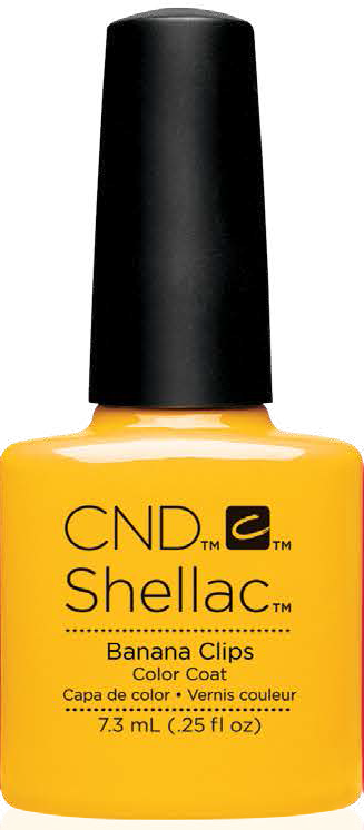 CND  SHELLAC UV Color Coat BANANA CLIPS 91405
