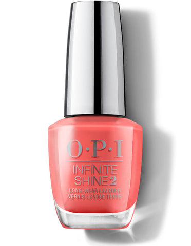 OPI infinite shine TEMPURA-TURE IS RISING!