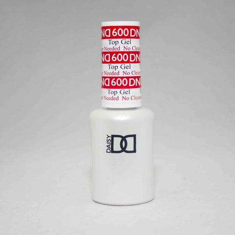 DND Gel Top No Cleanser 600  .5 fl oz