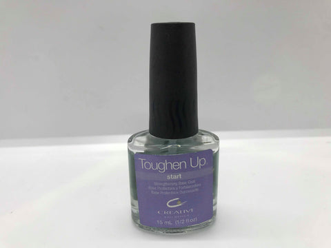 Creative Nail Design  Toughen Up Nail Strengthener base coat 15ml/0.5oz