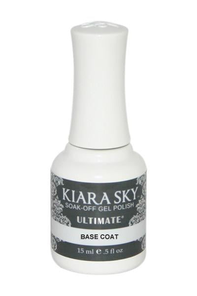 Kiara Sky Soak Off Gel Polish Ultimate Base Coat 0.5oz