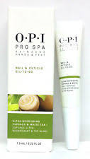 OPI PRO SPA NAIL & CUTICLE OIL-TO-GO Cupuacu & White Tea 7.5ml/0.25oz NEW IN BOX