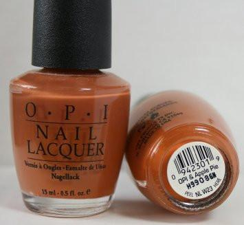 OPI  Discontinue Color Nail Polish  OPI And Apple Pie W23